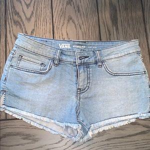 Womans vans mini shorts